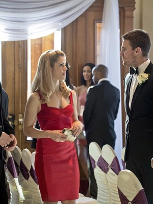 Diggle and Lyla's Wedding is about to get interrupted...