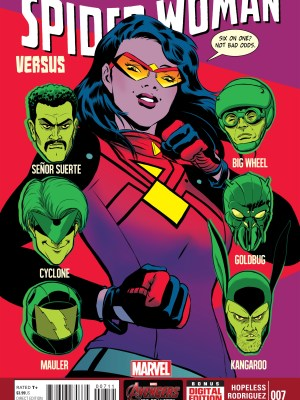 JAVIER RODRIGUEZ ART /& COVER SPIDER-WOMAN #1 MARVEL NOW 2015