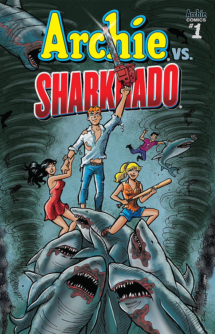 Archie vs. Sharknado cover