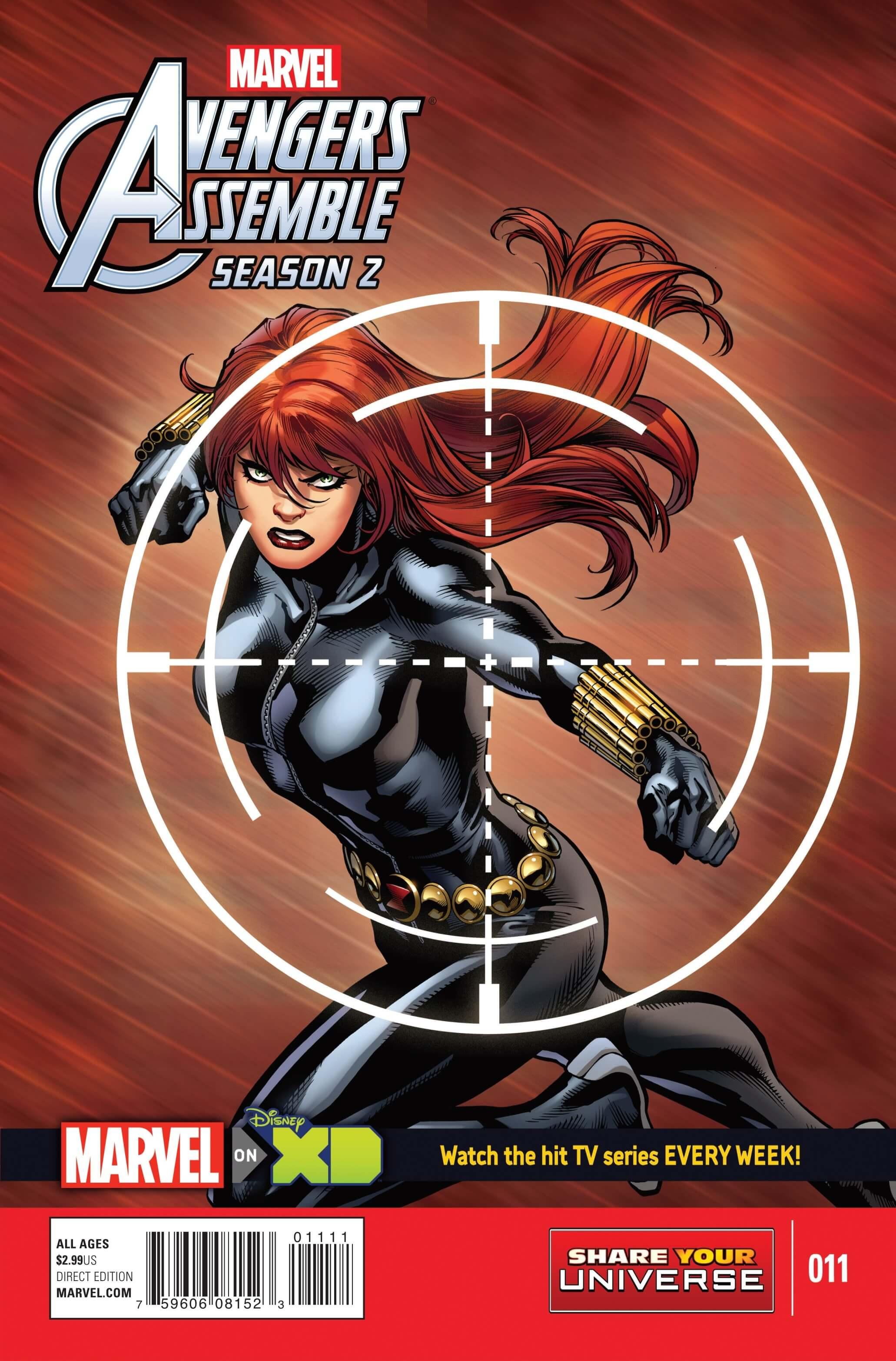 Marvel Universe Avengers Assemble, Season Two #11cvr
