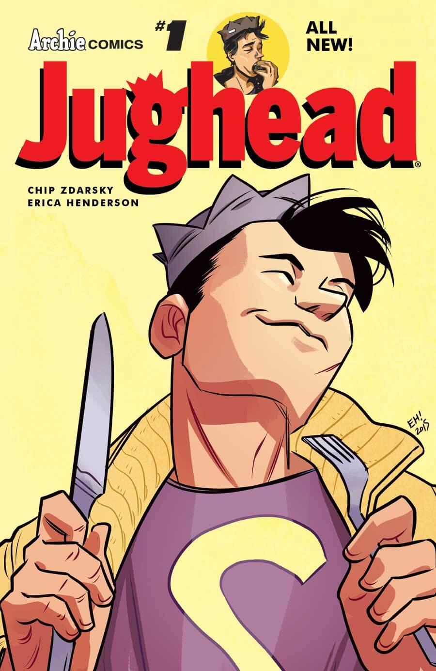 JUGHEAD #1 Cover by Erica Hendrson