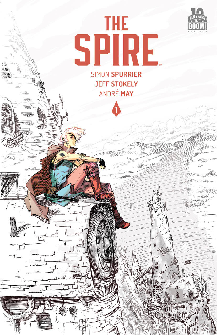 The Spire #1 Second Print Cover by Jeff Stokely