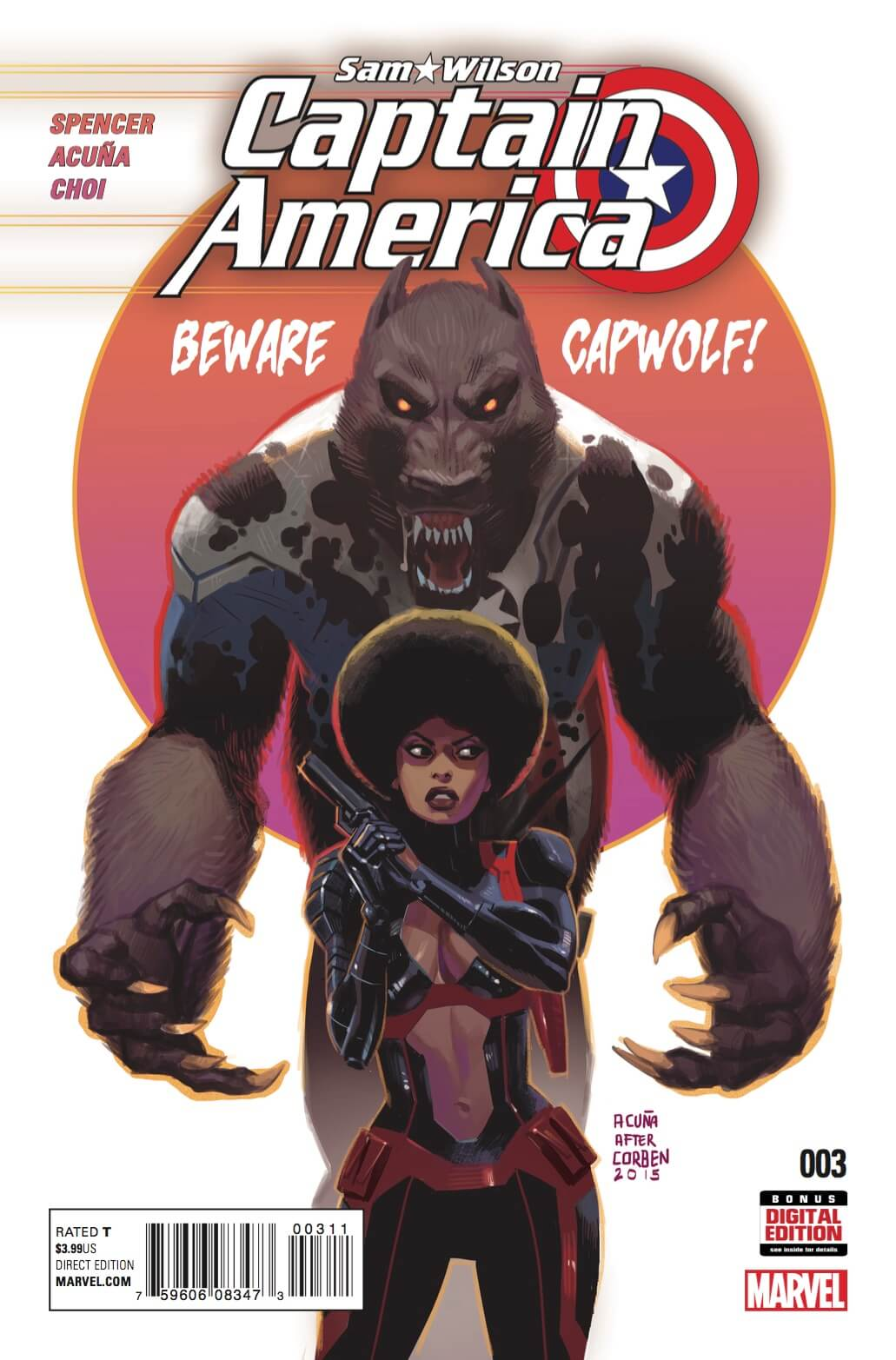 Sam Wilson: Captain America #3
