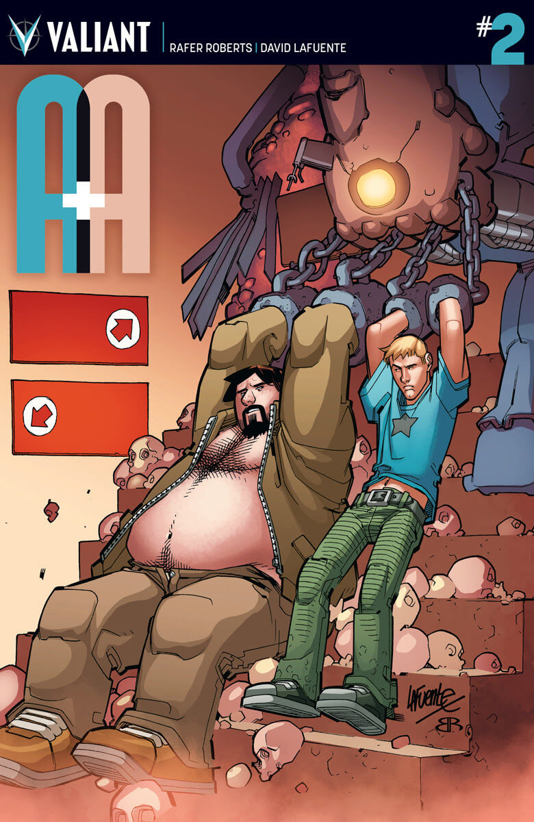 A&A: THE ADVENTURES OF ARCHER & ARMSTRONG #2 – Cover A by David Lafuente