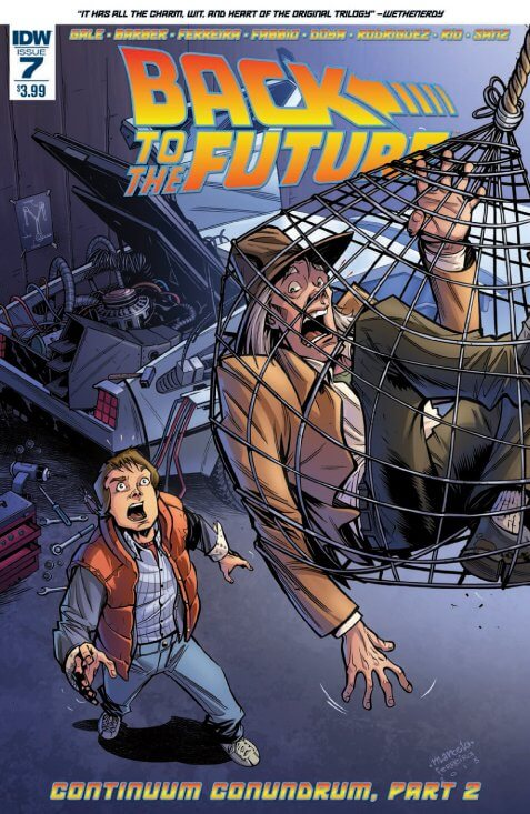 BTTF #7 Cover