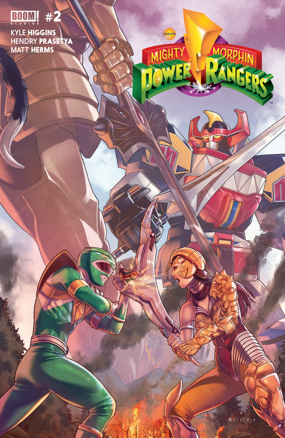 Mighty Morphin' Power Rangers #2