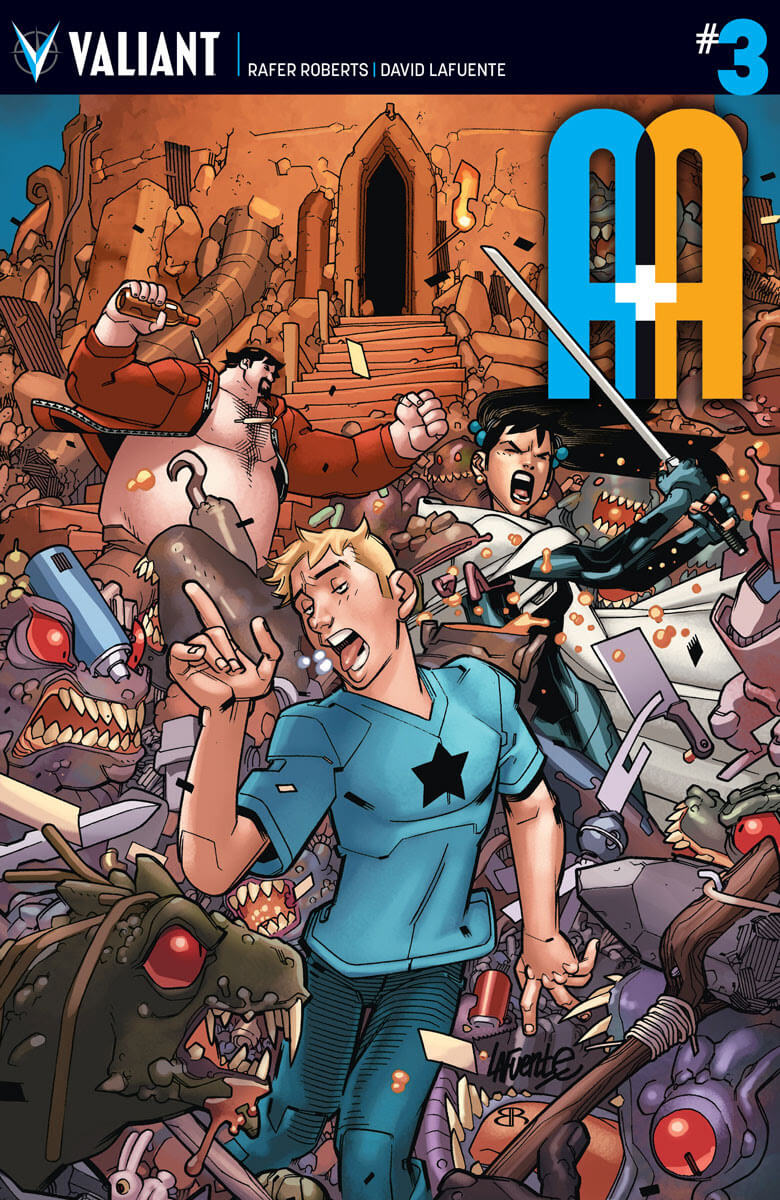 A&A: THE ADVENTURES OF ARCHER & ARMSTRONG #3 – Cover A by David Lafuente