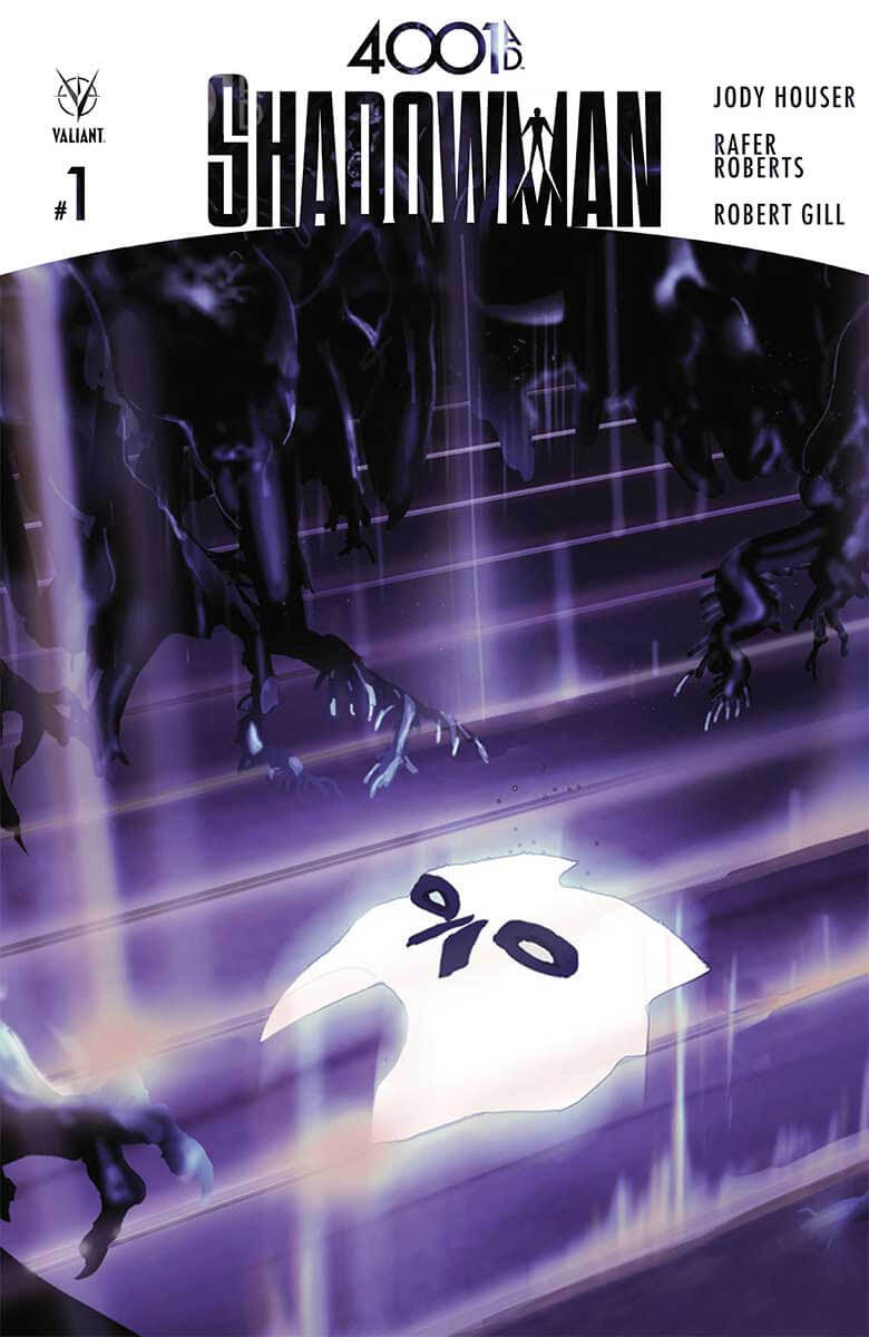 4001 A.D.: SHADOWMAN #1 – Cover A by Travel Foreman