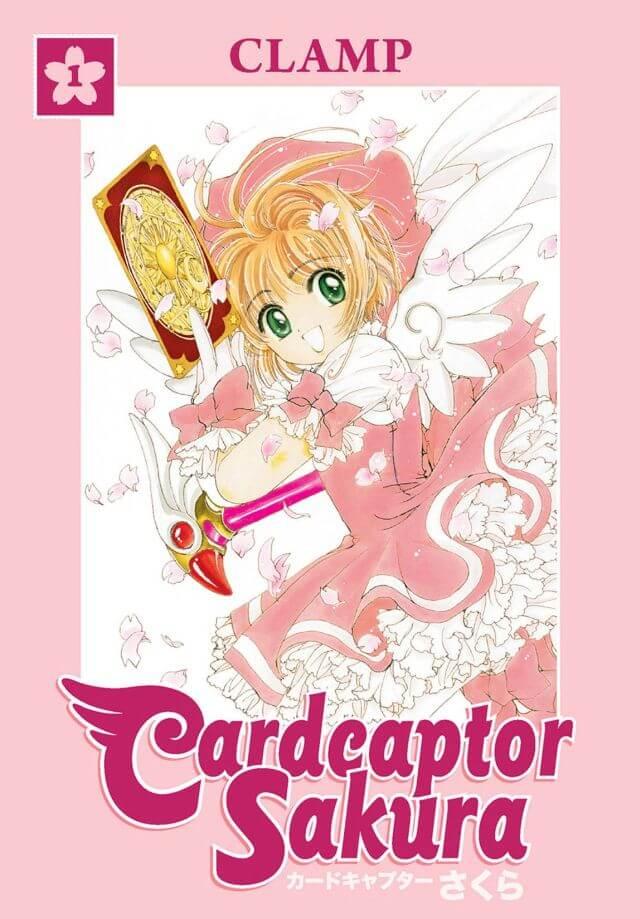 Cardcaptor Sakura vol 1 cover