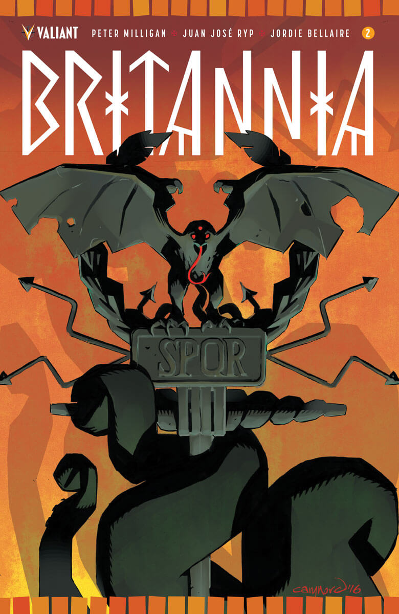 BRITANNIA #2 (of 4) – Cover A by Cary Nord