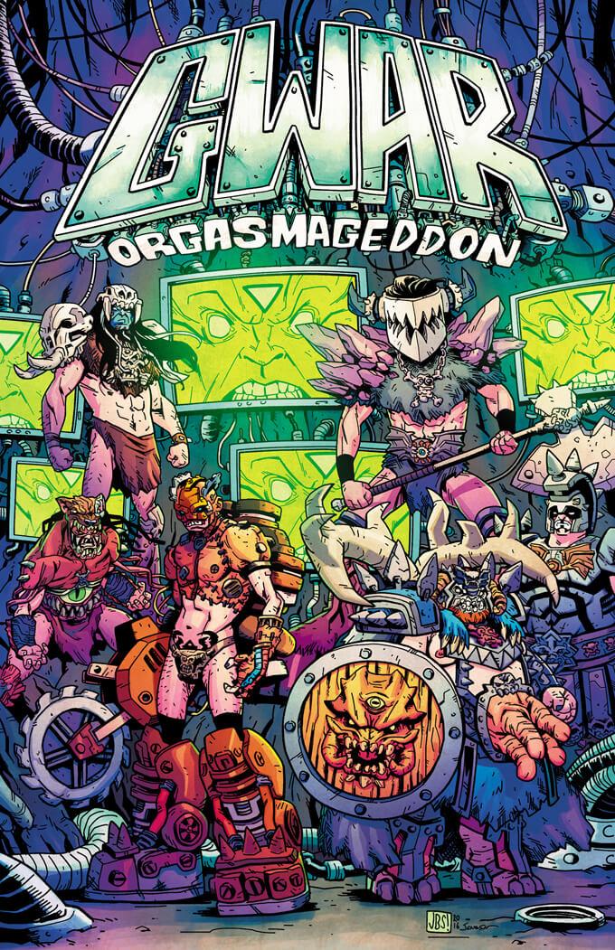 Standard cover: Jonathan Brandon Sawyer art, Josh Jensen colors
