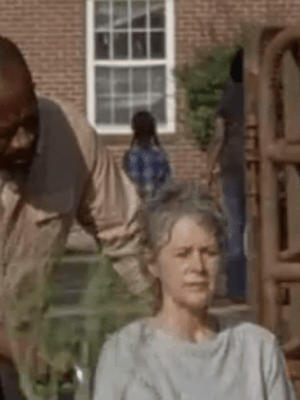 Morgan and Carol experience a Rick-free environment.