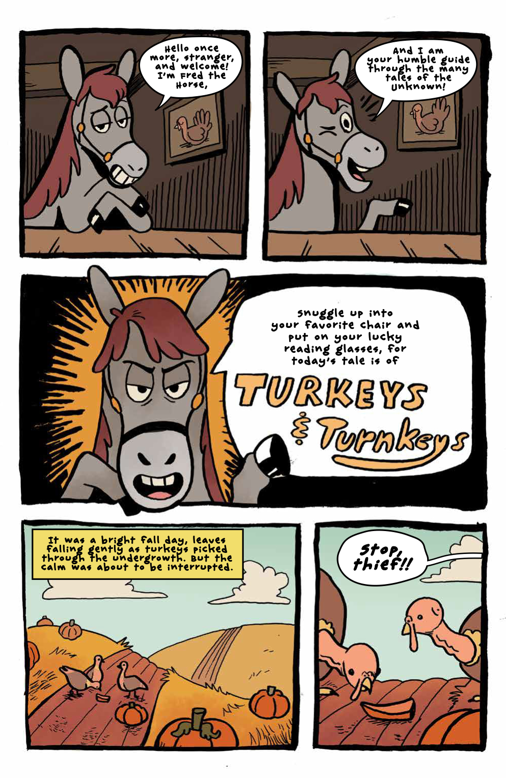 synopsis a fiddling cat finds that no one likes his music as he travels through the unknown - Over The Garden Wall Comic