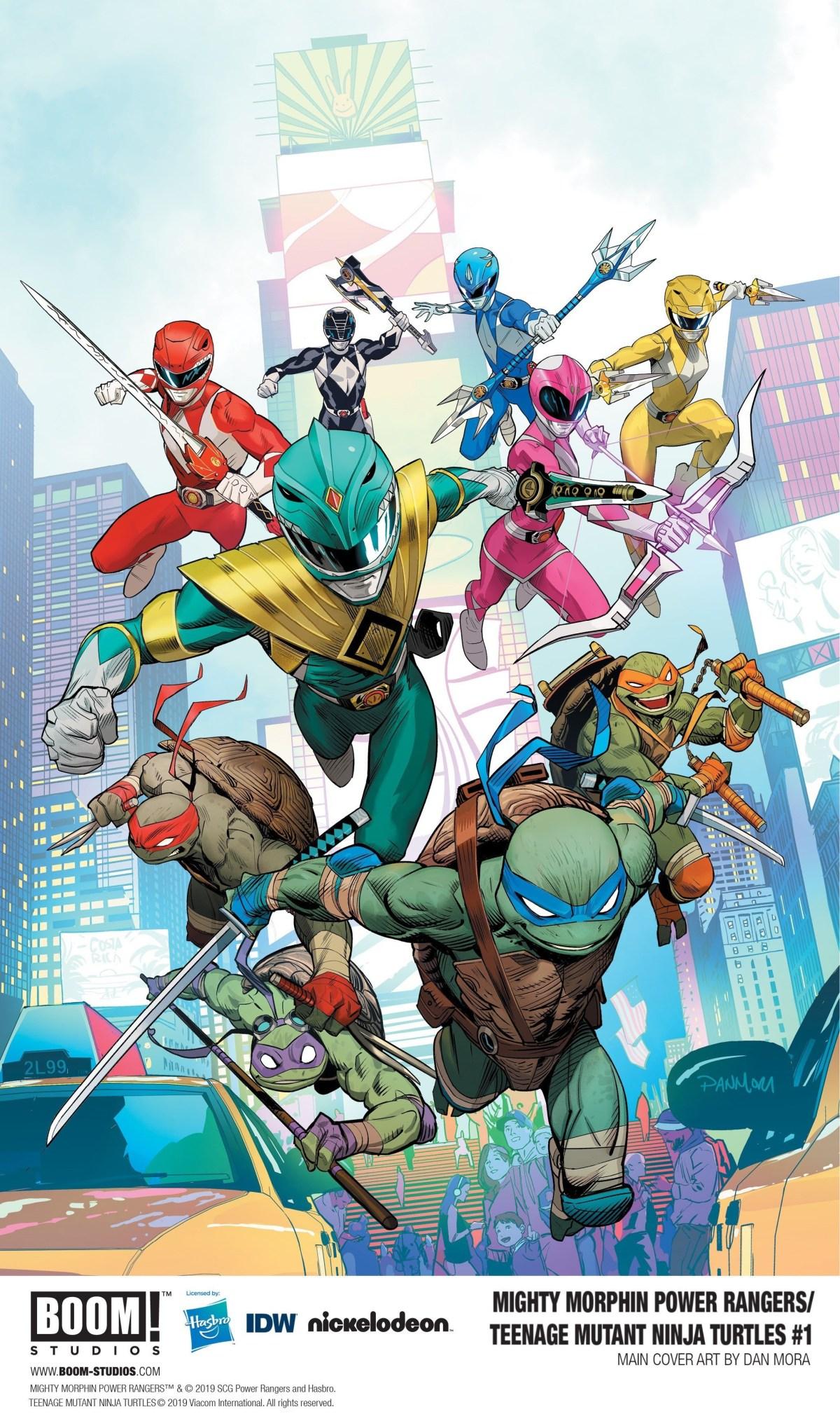 Power Rangers TMNT