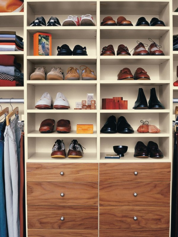 Полки для обуви в интерьере (1)all-designstroy.ru