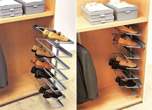 Полки для обуви в интерьере (7)all-designstroy.ru