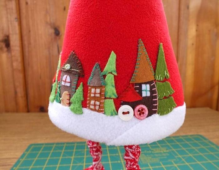Шить шубу для Деда Мороза