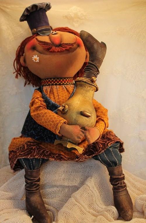 Кукла: Чайку-с? Автор: Татьяна Козырева