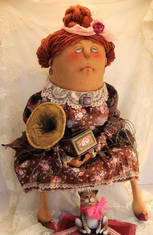 Кукла: Под звуки танго Автор: Татьяна Козырева