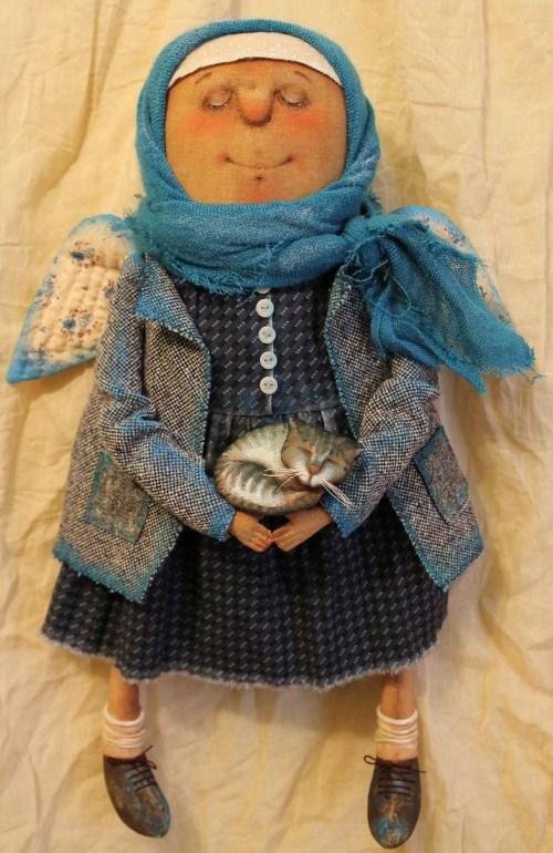 Кукла: Голубые коты Автор: Татьяна Козырева