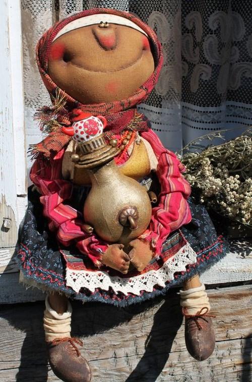 Кукла: Чаепитие Автор: Татьяна Козырева