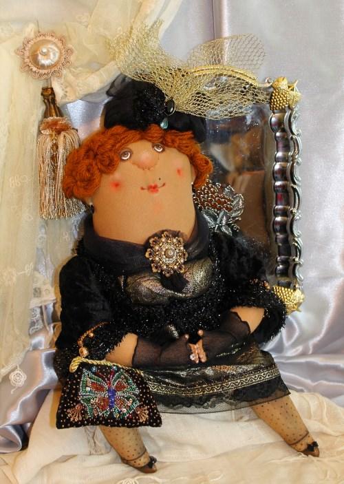Кукла: Мамзелька в черном Автор: Татьяна Козырева