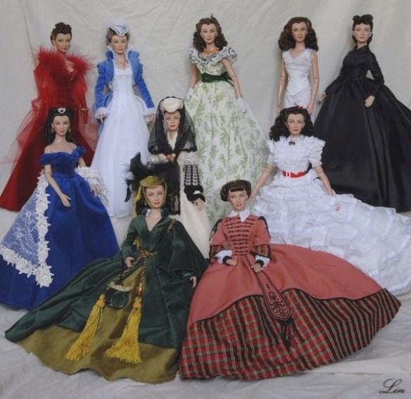 Куклы Скарлетт О'Хара