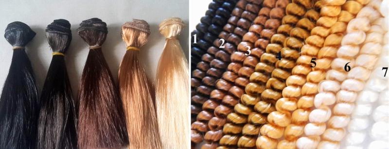 Трессы из искусственных волос: прямые и завитые в кудри