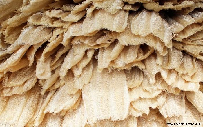 Волокна люфы