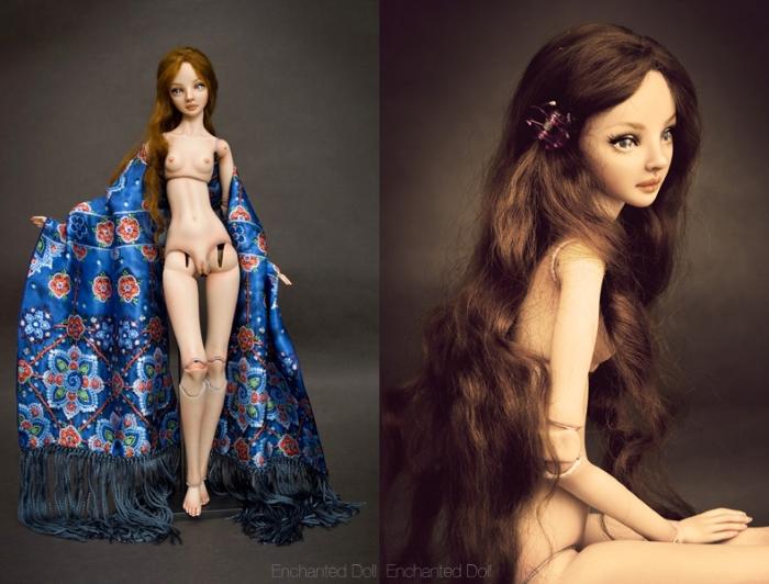 Марина Бычкова, фарфоровые куклы