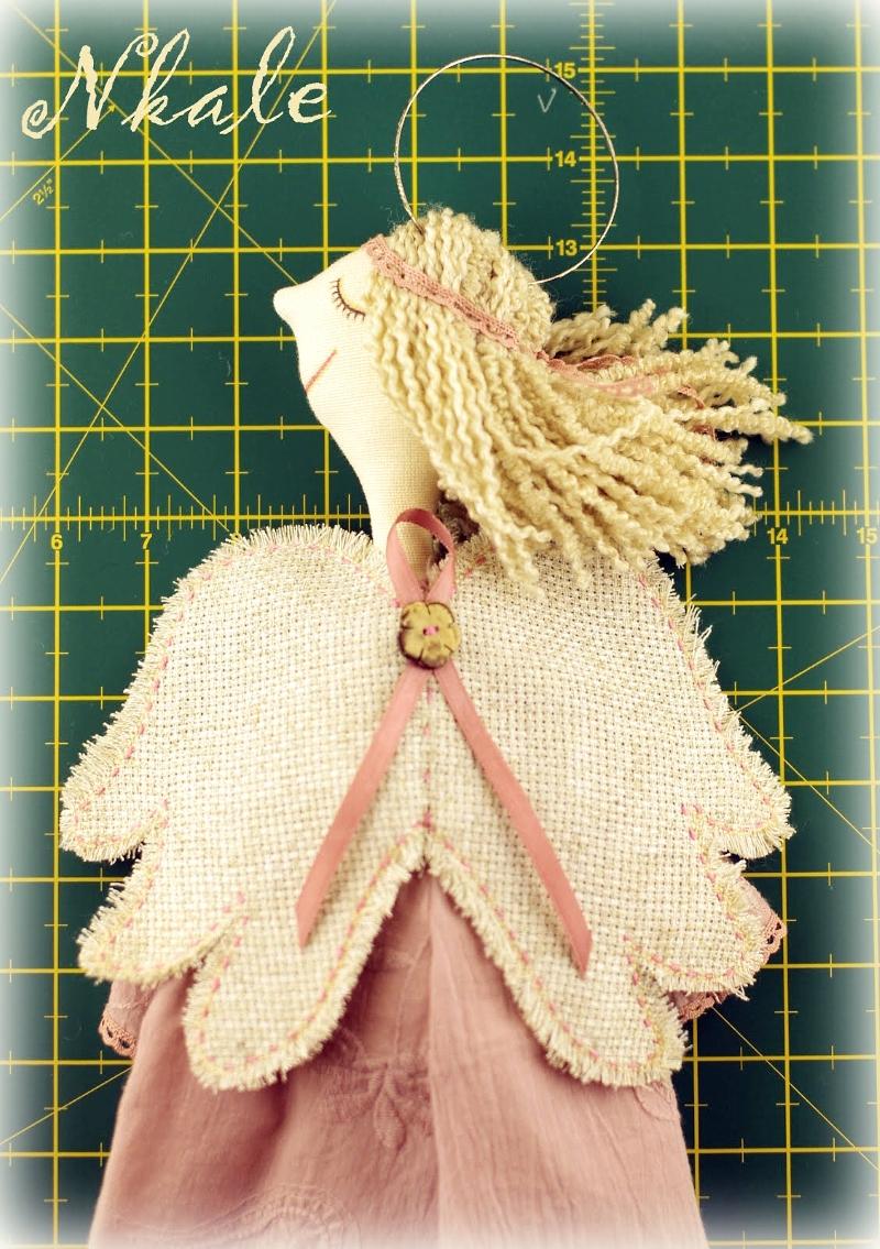 выкройка куклы ангела