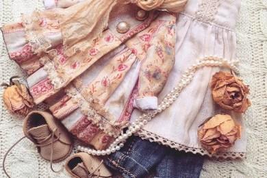 Красивая одежда для кукол от Дины Крыловой
