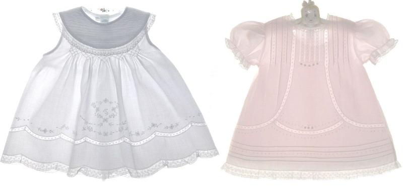 Платье с мережкой