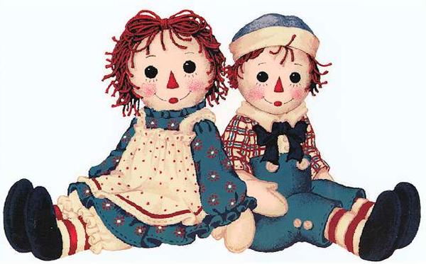 Кукла Реггеди Энн