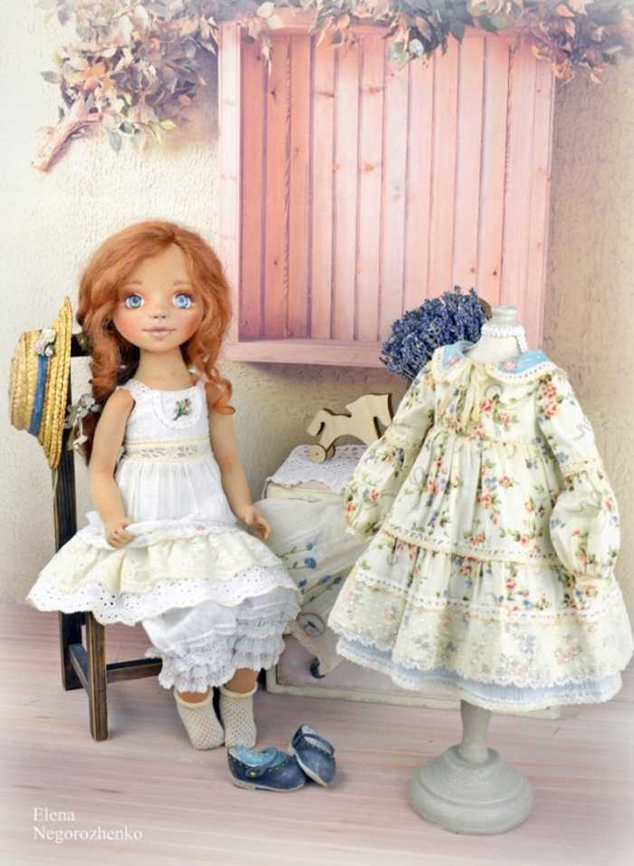 Кукла Полинка, неженки Е. Негороженко
