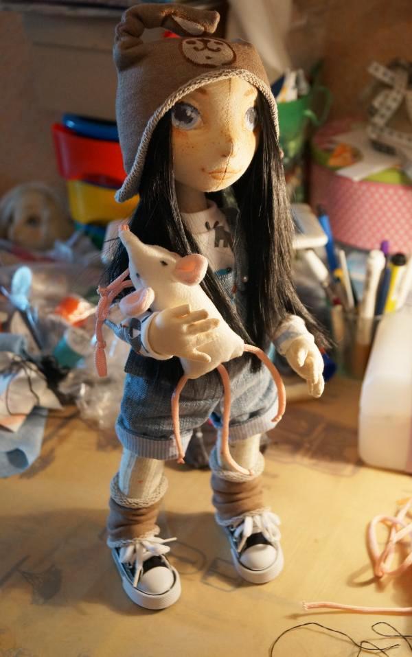 шьем каркасную куклу