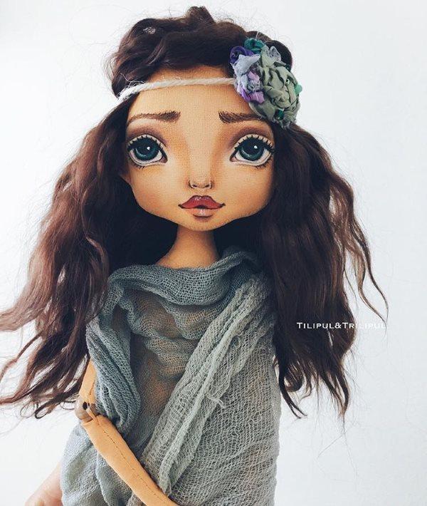 лицо куклы Юлии Подколзиной