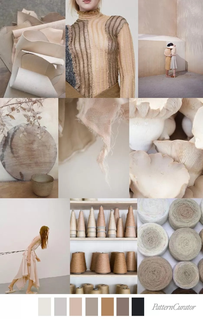 NATURAL NUDE by Pattern Curator