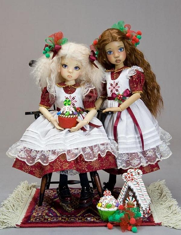 наряды для кукол