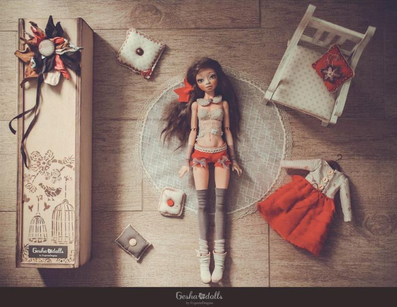 Кукла Евгении Драгиной, GeshaDolls