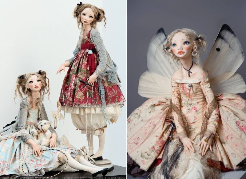 Коллекционные куклы Алисы Филипповой