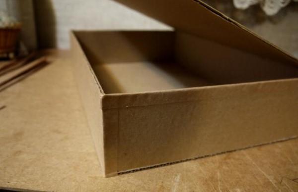 как сделать коробку для куклы