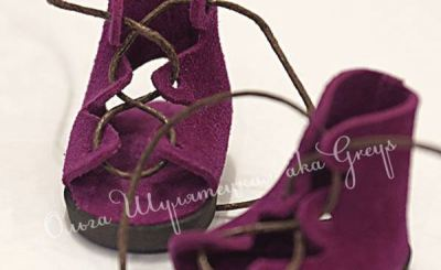 Обувь для куклы, которую не нужно шить