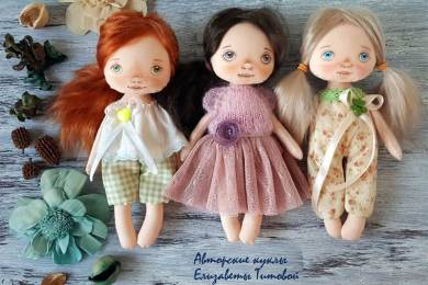 Авторские куклы Елизаветы Титовой