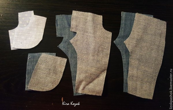 как сшить джинсы