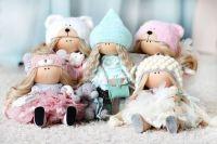 Выкройки текстильных кукол разных мастеров