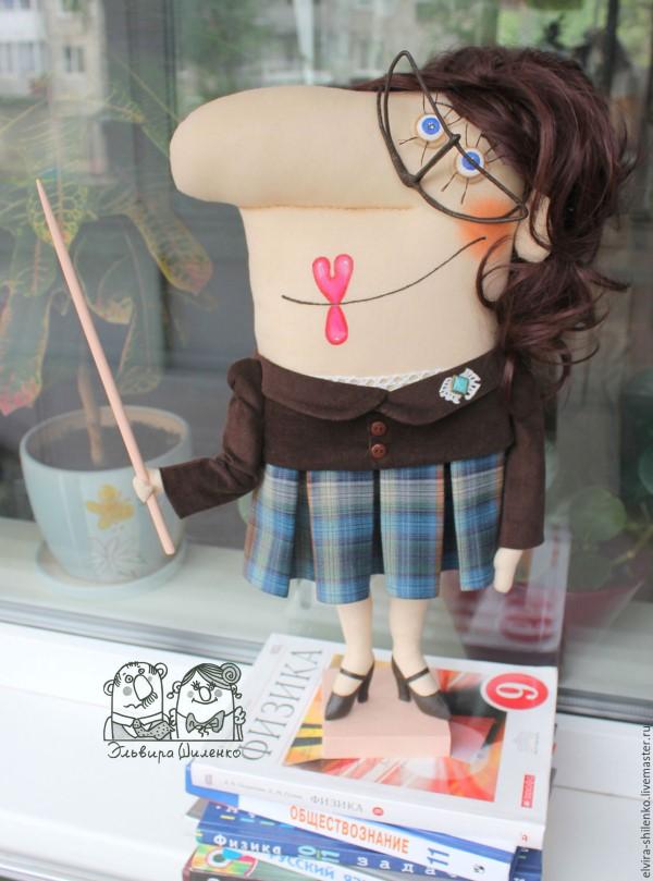 кукла учительница
