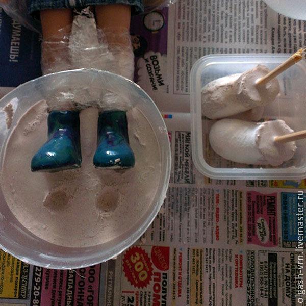 МК: колодки для обуви куклы