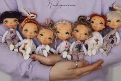 Куклы Натальи Нечепаевой
