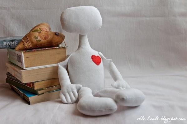 кукла примитив из ткани